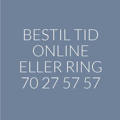 bestil tid online