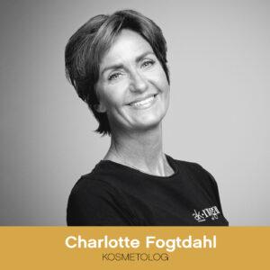 Kosmetolog Charlotte Fogtdahl hos AK Nygart